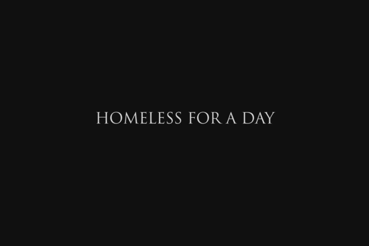 Homeless for a day